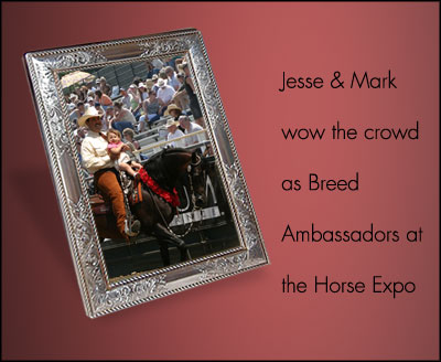 Jesse at Horse Expo Photo